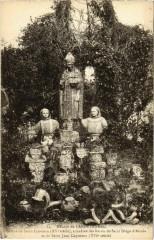 Landevennec - Abbaye de Landevennec - Statues - Landévennec