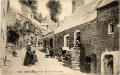 Pont-Croix - Le Bas de la Rue Cher - Pont-Croix