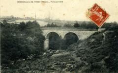 Pont sur l'Oeil - Deneuille-les-Mines