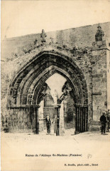 Ruines de l'Abbaye Saint-Mathieu (Finistere) - Baye