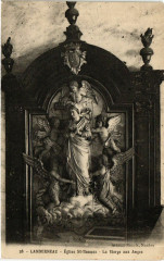 Landerneau - Eglise St-Thomas - La Vierge aux Anges 29 Landerneau