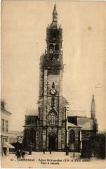Landerneau - Eglise St-Houardon (Xvi et Xvii s.) - Tour a conpele 29 Landerneau