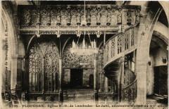 Plouvorn - Eglise N.-D. de Lambader - Le Jubé admirable travail - Plouvorn