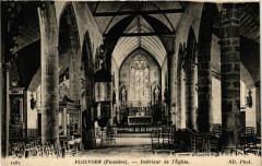 Plouvorn - Interieur de l'Eglise - Plouvorn