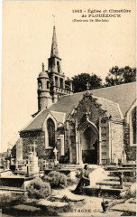 Plouezoc'h - Env. de Morlaix - Eglise et Cimitiere - Plouezoc'h