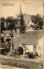 Locquenole L'Eglise et le Calvaire - Locquénolé