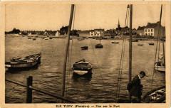 Ile Tudy - Vue sur le Port - Île-Tudy
