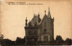 La Bretagne Les Bretons Manoir du Leuhan en Plabennec (Finistere - Leuhan