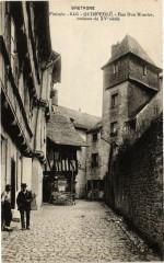 Bretagne - Finistere-Quimperle Rue Don Maurice maisons du Xv s 29 Quimper