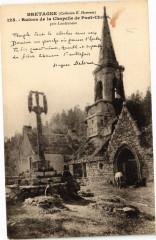 Bretagne - Ruines de la Chapelle de Pont-Christ - pres Landerneau 29 Landerneau
