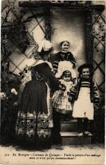 En Bretagne - Costumes de Quimper - Voila la porure d'un ménage... 29 Quimper