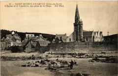 Saint-Michel-en-Greve - Eglise et le Cimetiere - Saint-Michel-en-Grève