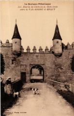Entrée du Chateau de Bien-Assis - entre Le Val-Andre et Erquy 22 Erquy