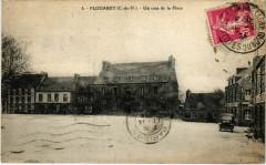 Plouaret - Un coin de la Place - Plouaret