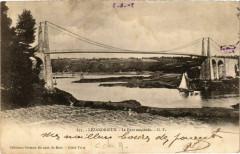 Lezardrieux - Le Pont suspendu - Lézardrieux