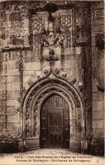Une des Portes de l'Eglise de Graces - Grâces