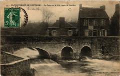 Plouguenast-le-Pontgamp - Le Pont sur le Lié - Route de Loudéac - Loudéac