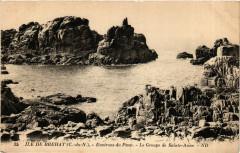 Ile de Brehat - Environs du Paon - Le Groupe de St-Anne 22 Île-de-Bréhat