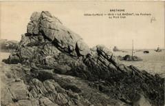 Bretagne - Ile de Brehat - les Rochers au Port-Clot 22 Île-de-Bréhat