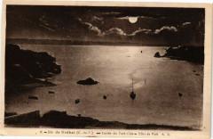 Ile de Brehat - Entrée du Port-Clos - Effet de Nuit 22 Île-de-Bréhat