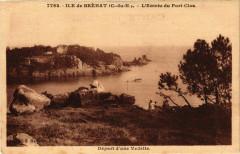 Ile de Brehat - L'Entrée du Poert-Clos - Départ d'une 22 Île-de-Bréhat