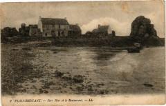 Plougrescant-Port Hier et le Restaurant - Plougrescant