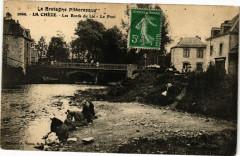 La Cheze-Les Bords du Lié-Le Pont - La Chèze