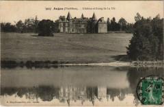 Augan Chateau et Etang de la Mo - Augan