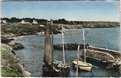 Saint-Gildas-de-Rhuys Le Petit port - Saint-Gildas-de-Rhuys