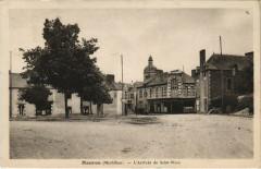 Mauron Arrivée de Saint-Méen - Mauron