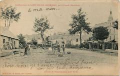 St-Michel-en-Priziac-L'Entrée de l'Etabl. - Priziac
