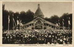 Sainte-Anne-d'Auray - Messe a la Scala Sancta - Sainte-Anne-d'Auray