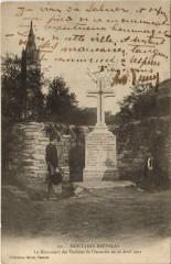 Saint-Jean-Brevelay - Le Monument des VICtimes de l'Incendie - Saint-Jean-Brévelay