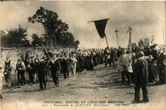 Costumes Moeurs et Costumes Bretons - Procession de Quelven - Elven