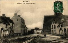 Morbihan - Serent - Vue principale du Bourg - Sérent