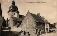 Le Faouet - L'Eglise te Vieux Puits - Le Faouët