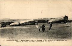 Locmariaquer - Menhir Men-er-Kroeck - Longueur 25 m largeur 3 m 56 Locmariaquer