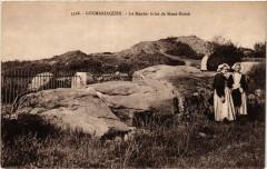 Locmariaquer - Le Menhir brise de Mane-Hoerk 56 Locmariaquer