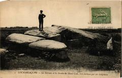 Locmariaquer - Le Dolmen et la Grotte du Mane-Lud tres curieuse 56 Locmariaquer