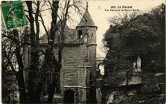Le Faouet - Vue générale de Ste-Barbe - Le Faouët