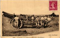 L'exercise au Camp de Meucon - Meucon