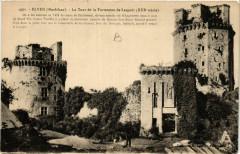 Elven - La Tour de la Forteresse de Largoet (Xiii s.) - Elven