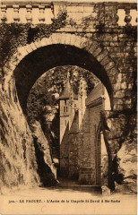 Le Faouet - L'Arche de la Chapelle St-David a Ste-Barbe - Le Faouët