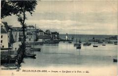 Belle-Isle-en-Mer - Sauzon - Les Quais et le Port - Sauzon
