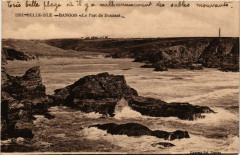 Belle-Isle-en-Mer - Bangor - Le Port de Dounant - Bangor
