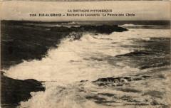 Ile-de-Groix - Rochers de Locmaria - La Pointe des Chats - Locmaria