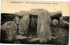 Erdeven - Dolmen du Mane-Crok et Chambre laterale - Erdeven