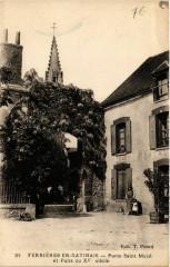 Ferrieres-en-Gatinais - Porte St-Macé et Puits du Xve siecle - Ferrières-en-Gâtinais