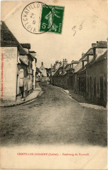 Chatillon-Coligny - Faubourg du Puyrault - Châtillon-Coligny
