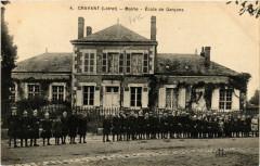 Cravant - Mairie - Ecole de Garcons - Cravant